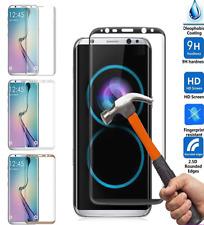 Noir Complet Courbé 3D verre trempé Film De Protection Housse Samsung Galaxy S8