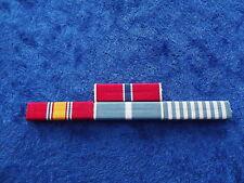 Ordensspange KOREA 4 Ribbons: Standard + Bronze Star
