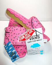 *Worldwide Shipping* Vans Simpsons D'ohnut Slides Sandals Mens Sz 10 Donut
