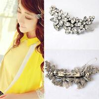 Women Wedding Bridal Hairpin Jewelry Crystal Rhinestone Hair Clip Pin