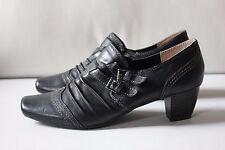 QUEENS & SONS Pumps schwarz Leder Größe 39 TOP kaum getragen