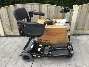 Black Luggie ELITE mobility scooter,Excellent condition FREE DELIVERY AVAILABLE.