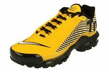 Mens Nike Air Max Plus TN SE Trainers Shoes Yellow White Black AV2591 700