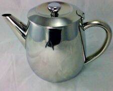 Grunwerg Cafe Ole Everyday .75 Litre 24oz Stainless Steel Tea Pot ETP-024