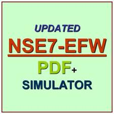 Fortinet NSE7 Enterprise Firewall - FortiOS 5.4 Test NSE7_EFW Exam QA PDF+SIM