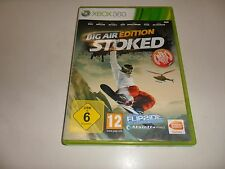 XBOX 360 stoked-BIG AIR EDITION