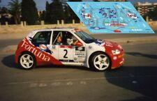 DECALS 1//43 REF 0179 PEUGEOT 106 MAXI SERPAGGI TOUR DE CORSE 1998 RALLYE RALLY