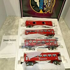 MTH  TINPLATE TRADITIONS 4 CARS O GAUGE 2600 SERIES SET NEW IN BOX