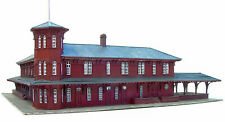 CANAAN UNION STATION N Scale Model Railroad Structure Unpainted Laser Kit LA859