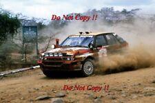 Miki Biasion Martini Lancia Delta Integrale Safari Rally 1988 Photograph 1