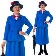 BAMBINO MAGICO Vittoriano Nanny Costume Ragazze Libro Settimana carattere