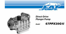 "PRESSURE WASHER PUMP - CAT 67PPX39G1I - 3.9 GPM - 4200 PSI - 1"" Shaft - 3400 RPM"