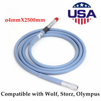 USA 2018 Fiber Optical Cable / Light Cable 4 X 2.5m Connector fit for Storz FDA