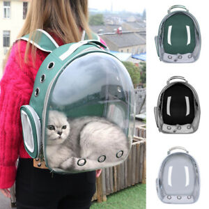 Cat Carrier Backpack Bubble Large Transparent Small Dog Carrier Airline Approved