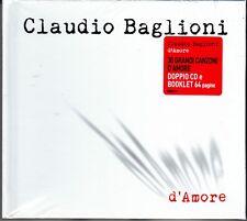 2 CD + Libro Book Box Set **CLAUDIO BAGLIONI • D'AMORE** Ediz. speciale nuovo