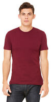 Bella+Canvas Mens Short Sleeve Jersey T Shirt Blank Cotton Tee XS-4XL. 3001C
