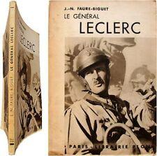 Le Général Leclerc de Hauteclocque 1948 Faure-Biguet deuxième guerre mondiale