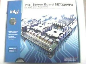 Intel Server Board SE7320VP2  Intel Dual Socket 604 brand new