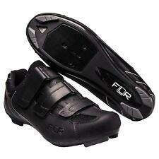 FLR F-35.III Road Bike Cycling Shoe in Matt Black - Size 39 3 Bolt  System