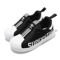 adidas Originals Superstar 360 X I Black White TD Toddler Infant Shoes EG3408