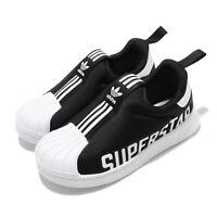 adidas Originals Superstar 360 X I Black White TD Toddler Infant Shoes EG3408
