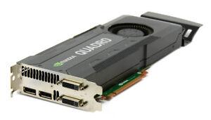 Nvidia Quadro K5000 4GB DDR5 PCI E  Professional Video Graphic Card 4K