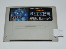 Super Famicom: Super R Type (cartucho/cartridge)