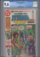 New Teen Titans #16  CGC 9.6 1982 DC: First Captain Carrot 16 Page Preview