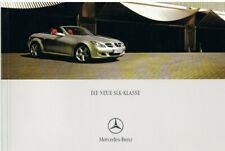 Prospekt Mercedes SLK-Klasse R 171 10/04 2004