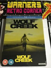 Zavvi exc wolf creek Ltd ed steel Book Movie Film 🎥 blu ray region b