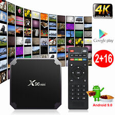 X96MINI Android 9.0 Pie S905W 4K Quad Core Smart TV BOX HDR10 Media Player Films