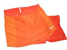 Nike Zonal Cooling Swing Knit Orange Golf Skort set size Large retail $90