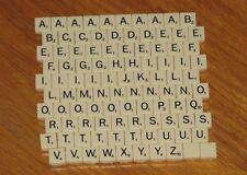 Scrabble mini plastic letter tiles Folio Travel Game Parts jewelry art crafts