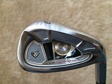 Taylormade Tour Preferred 2009 9 Iron Rifle 6.0 Flighted Stiff Flex Steel Shaft