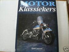 MOTOR KLASSIEKERS GRANT LEONARD CLASSIC BIKES DUCATI 750 SS,900 SS POSTER