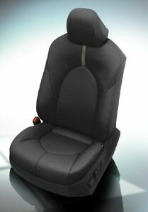 "2018 2019 2020 Toyota Camry LE / SE Katzkin Black Leather Seat Repla Covers ""4"""