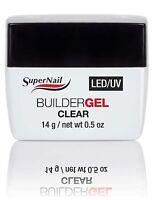 SuperNail Led/Uv Builder Gel Clear .5 oz 51600