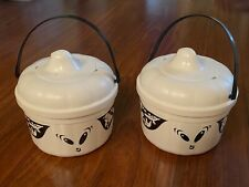 McDonald's 1993 Boo Ghosts Halloween Happy Meal Bucket Pail Set 2 Cookie Cutters