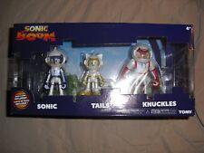 Knuckles Tails sonic the hedgehog diorama spacesuit nip TOMY figures