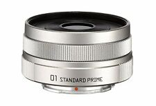 F/S NEW PENTAX 01 STANDARD PRIME Silver Q mount 22067 F1.9 TA0323 from Japan
