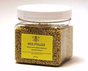 BEE POLLEN 100% Pure Natural Bee Pollen Granules 6 oz FDA Certified