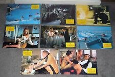 ON HER MAJESTY'S SECRET SERVICE orig rare lobby card set JAMES BOND/DIANA RIGG