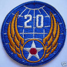 AAF 20th Airforce WW2 all cotton Patch
