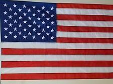 USA 2x3' FLAG  NEW US MADE EMBROIDERED & SEWN NYLON