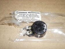 Clansman. Army radio microphone.NIB.Free P&P.