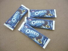 Dollhouse Miniature 4  Packet of OREO Biskuit Chocolate Sandwich Cookies
