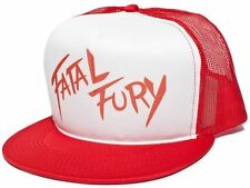 Fatal Fury Terry Bogard Red Cap Hat Andy King of Fighters SNK snapback Flat Brim