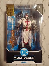 "AZRAEL (SUIT OF SORROWS) McFarlane Toys DC Multiverse 7"" Figure MIB Gold Label"