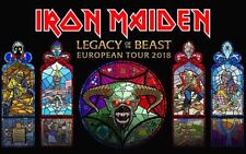 Iron Maiden Legacy Of The Beast European Tour 2018 Sticker or Magnet