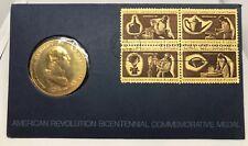 1972~ George Washington ~American Revolution Bicentennial Commemorative Medal .